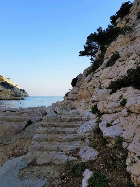 Escalier vers Cap Morgiou