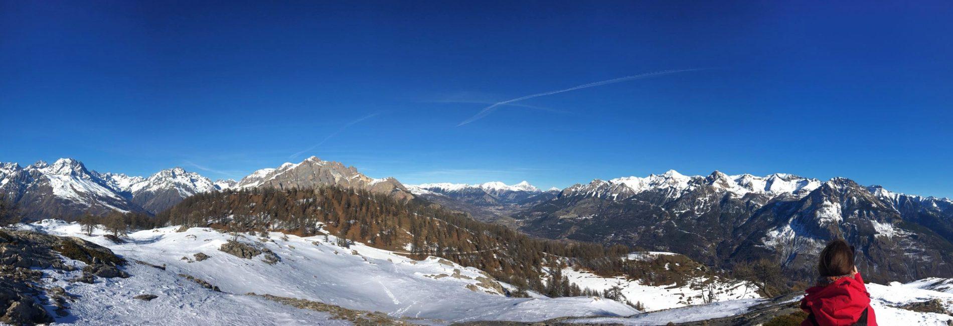 Ma première randonnée en raquettes au sein des alpes françaises