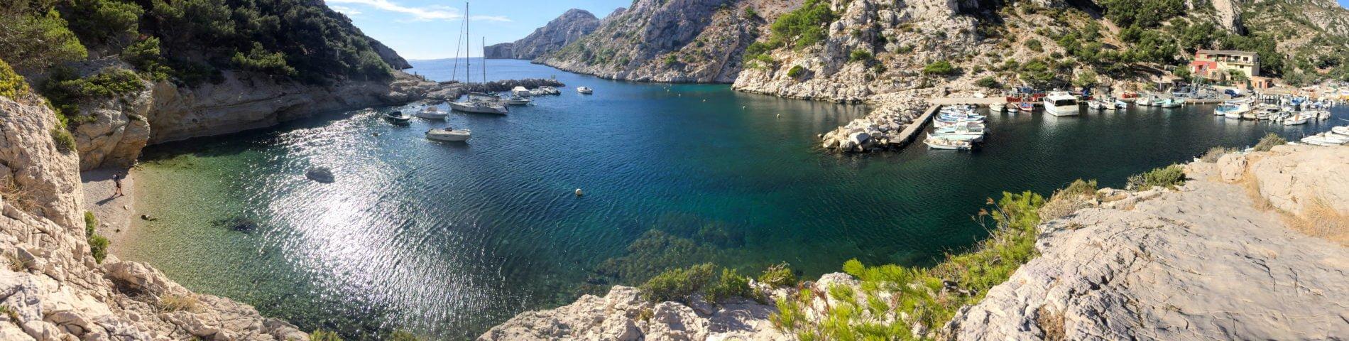 Randonnée dans les calanques de Marseille : de Morgiou à Sugiton