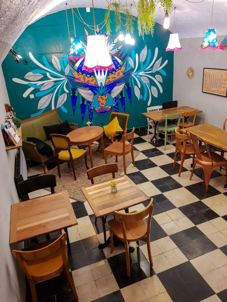 Auden Café salle basse