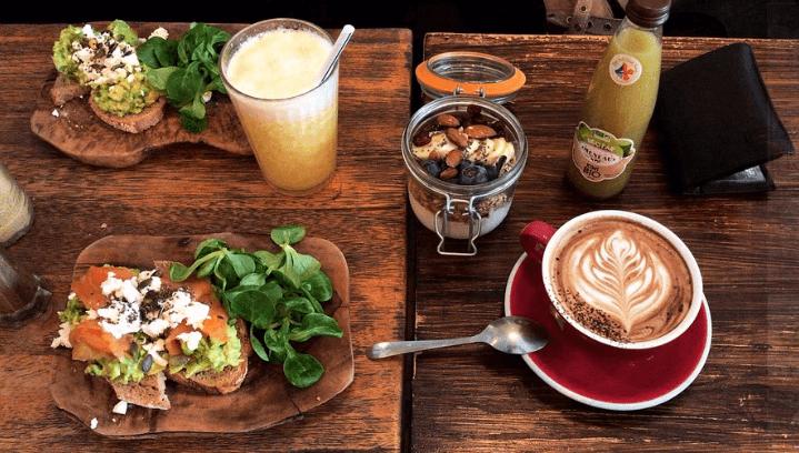 Coffee Club restaurant végétarien
