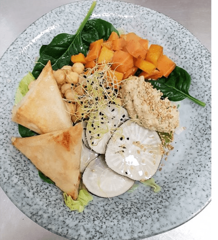 L'Hybride concept store restaurant végétarien à Montpellier