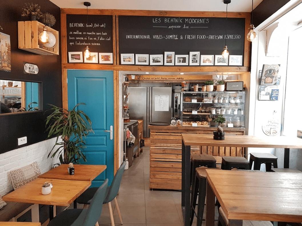 Les Beatnik Modernes restaurant végétarien Montpellier