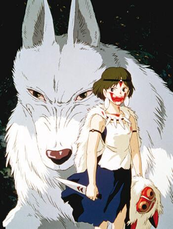 Princesse Mononoke films studios Ghibli netflix