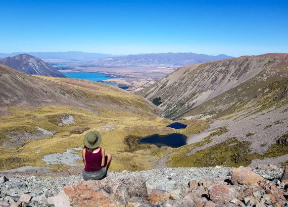 meeri wild lake ohau hiking PVT Nouvelle Zélande
