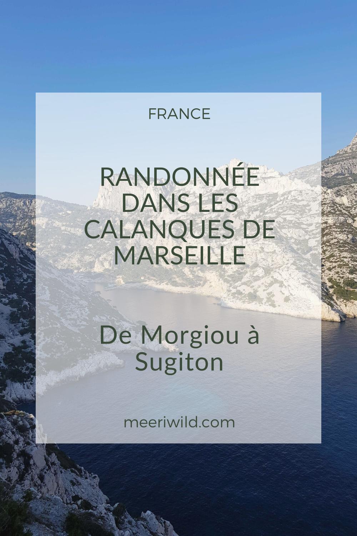 Randonnée dans les Calanques de Marseille - de Morgiou à Sugiton
