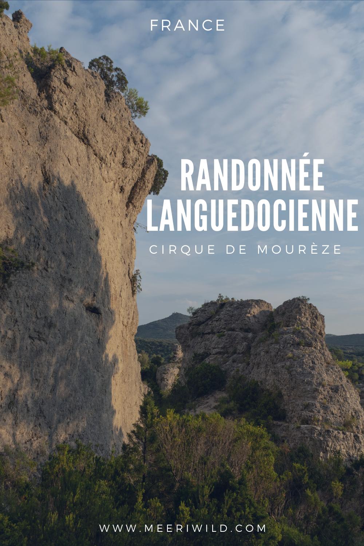 Randonnée languedocienne cirque de mourèze