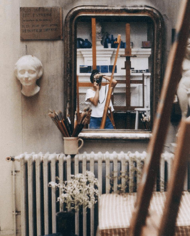 Clothilde Redon autoportrait photographe