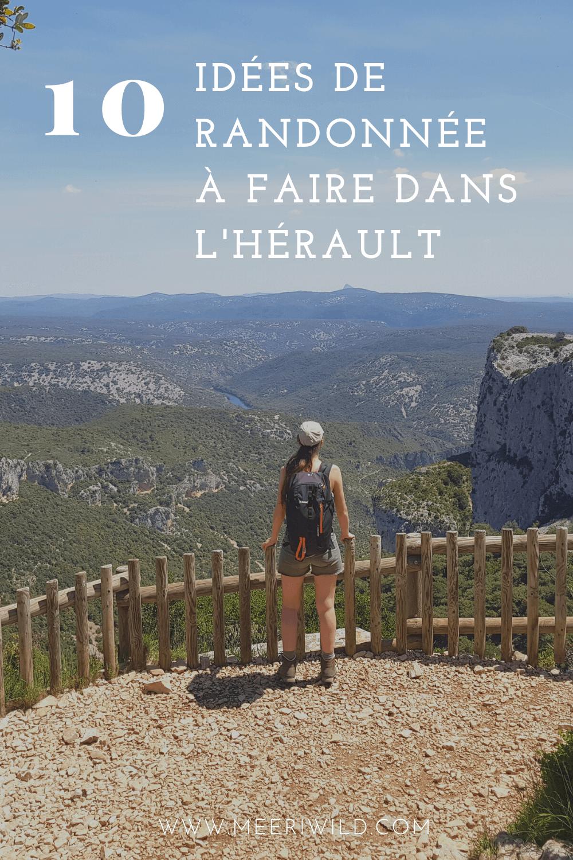 10 idées de randonnée à faire dans l'Hérault