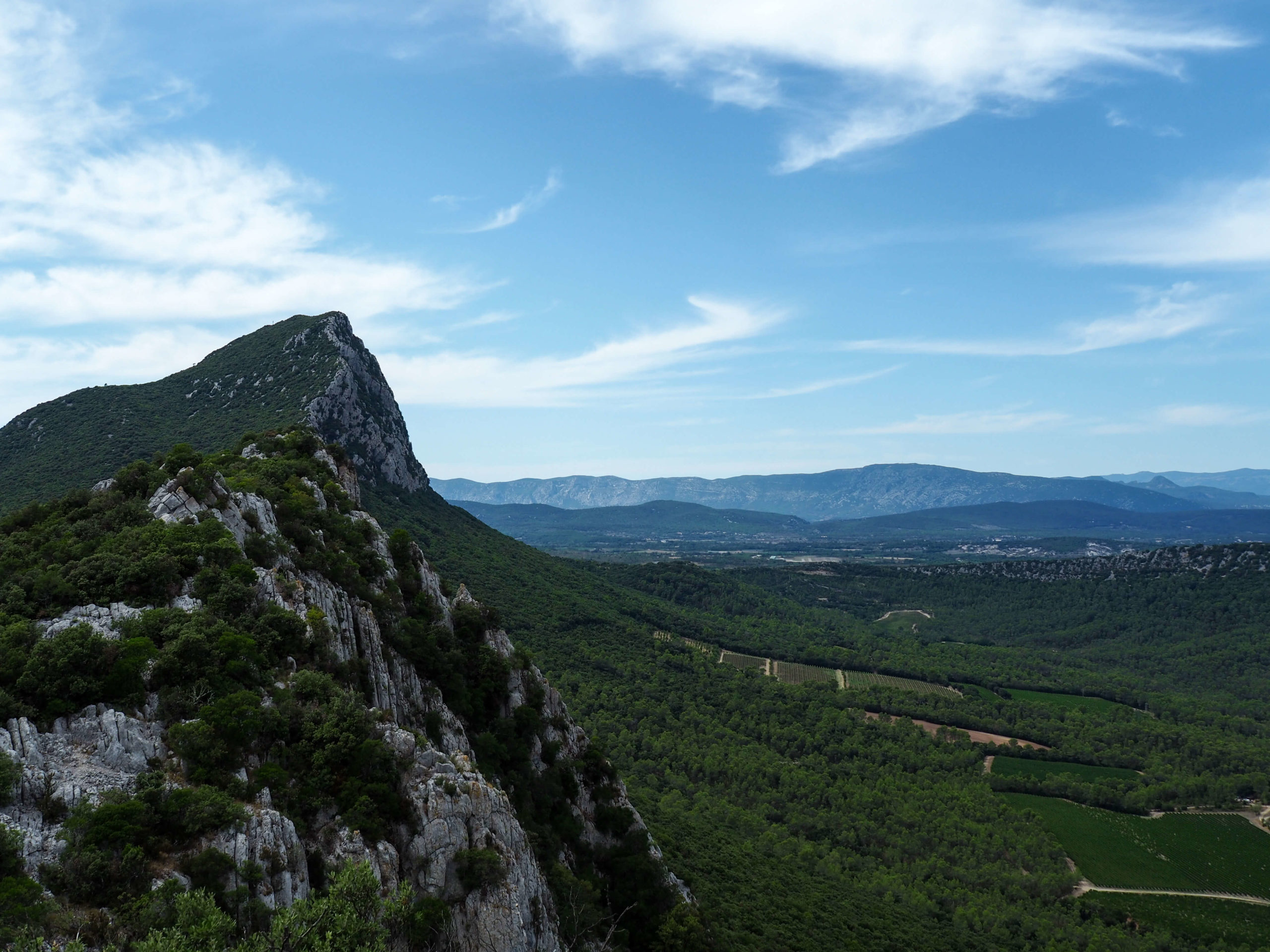 Pic Saint-Loup randonnée dans l'Hérault