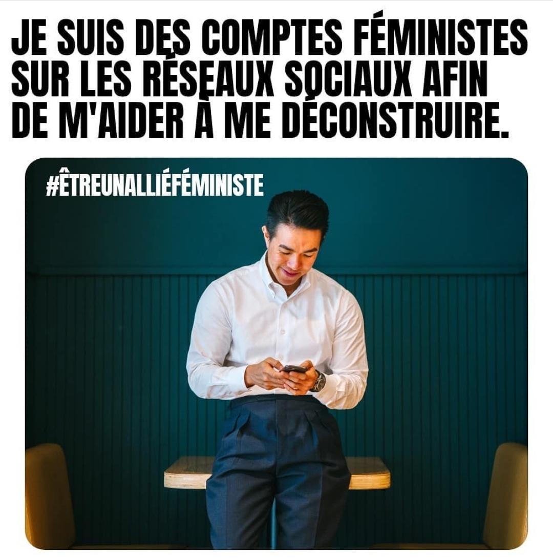 allié féministe meme meuf cocotte