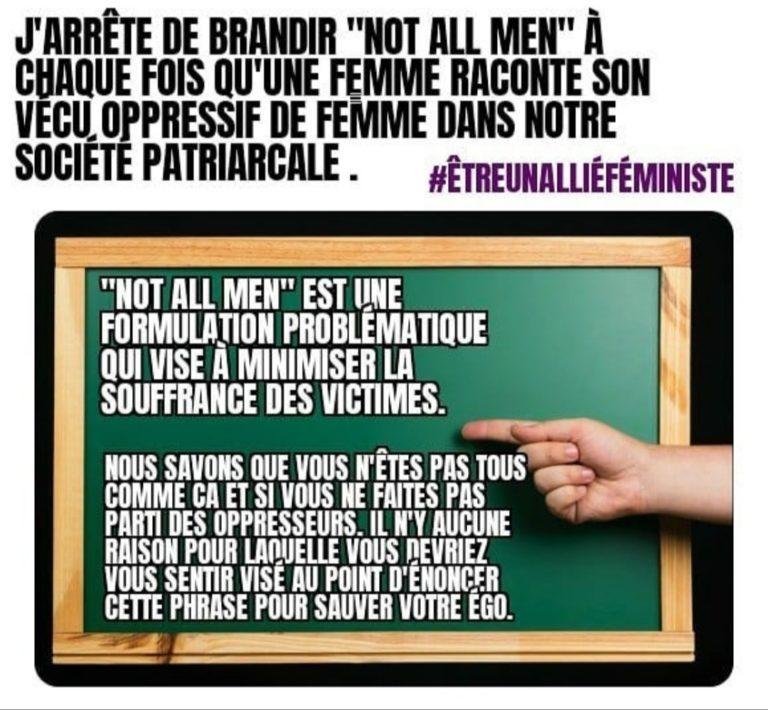 meuf cocotte instagram meme allié féminisme