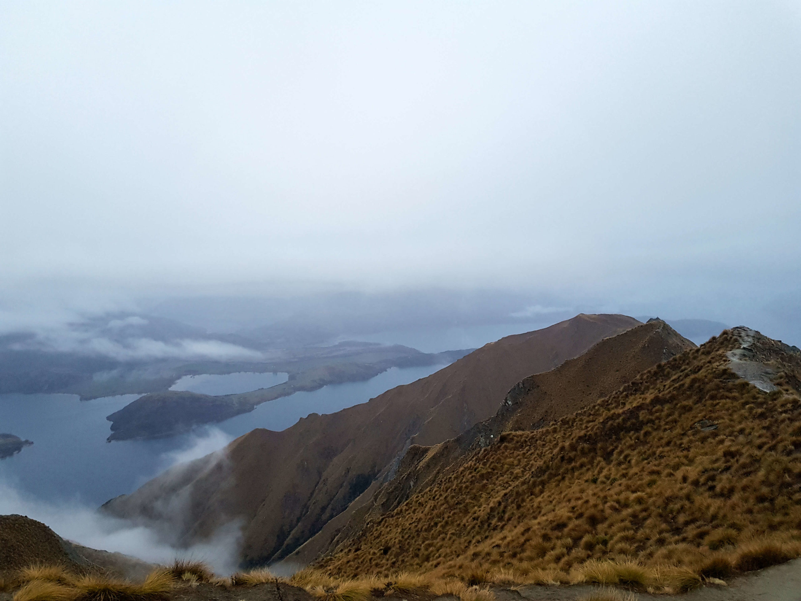 Point view Roys Peak Track New Zealand Wanaka