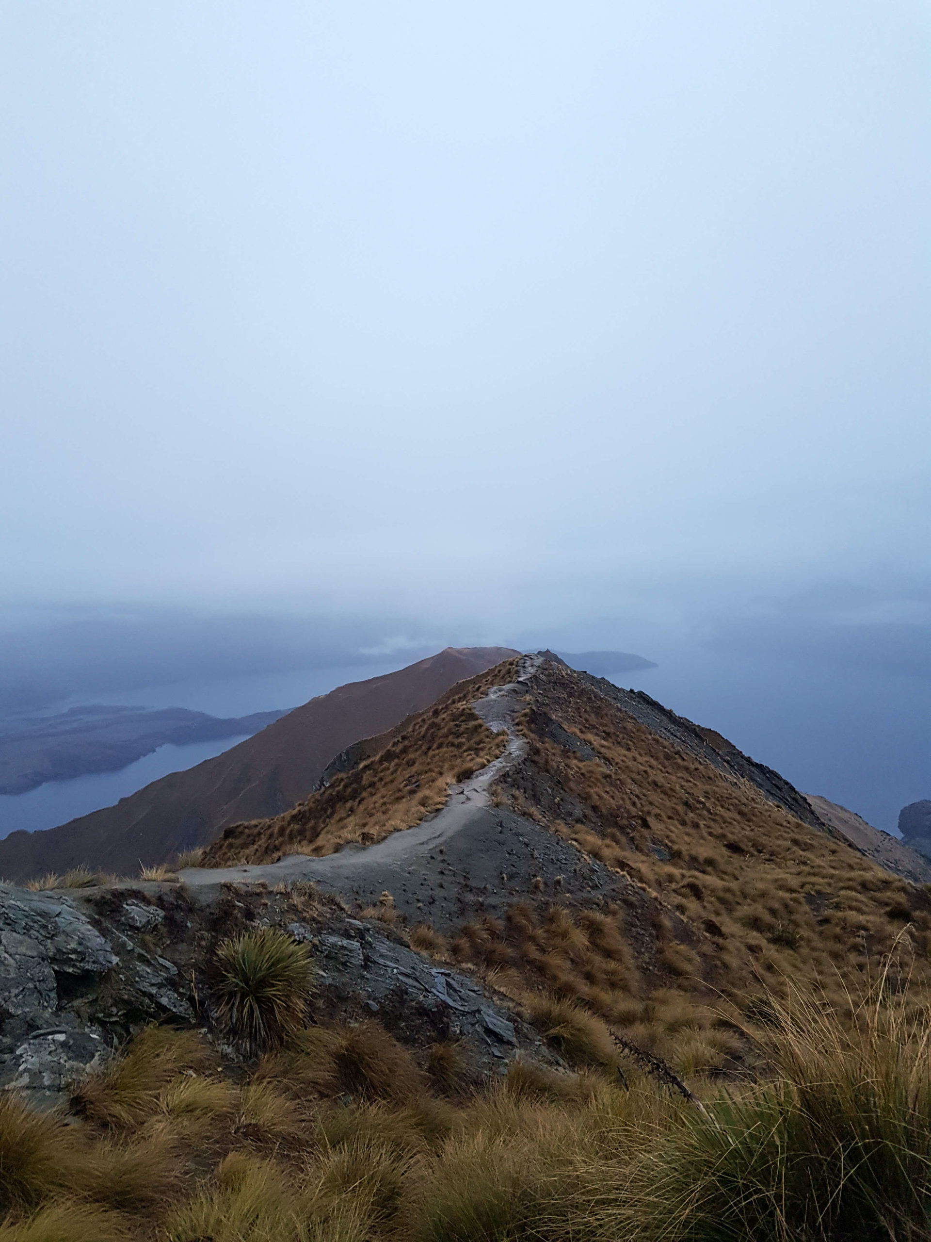 Point view Roys Peak Track Wanaka New Zealand