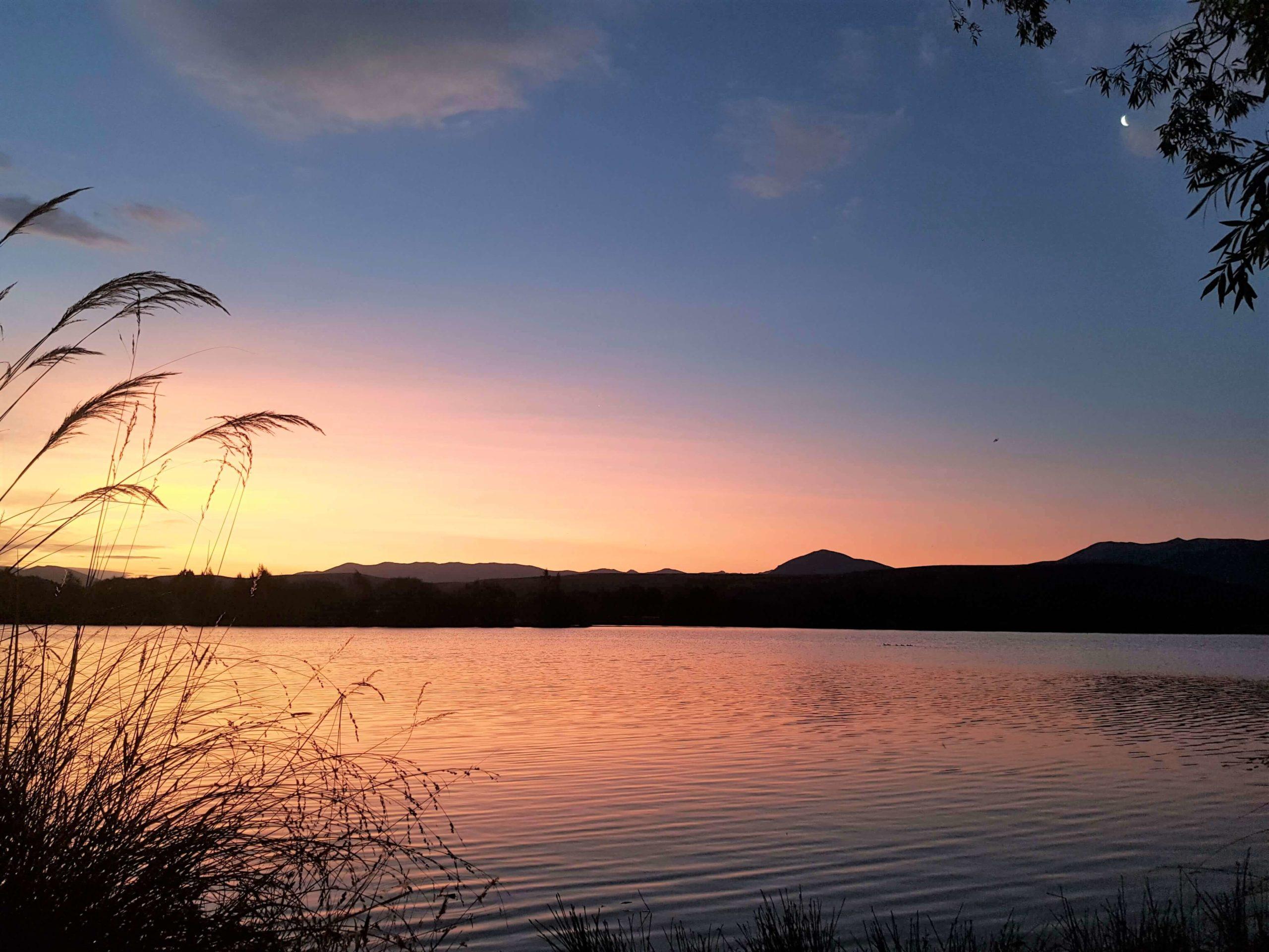 Lac Wairepo arm Twizel Nouvelle-Zélande