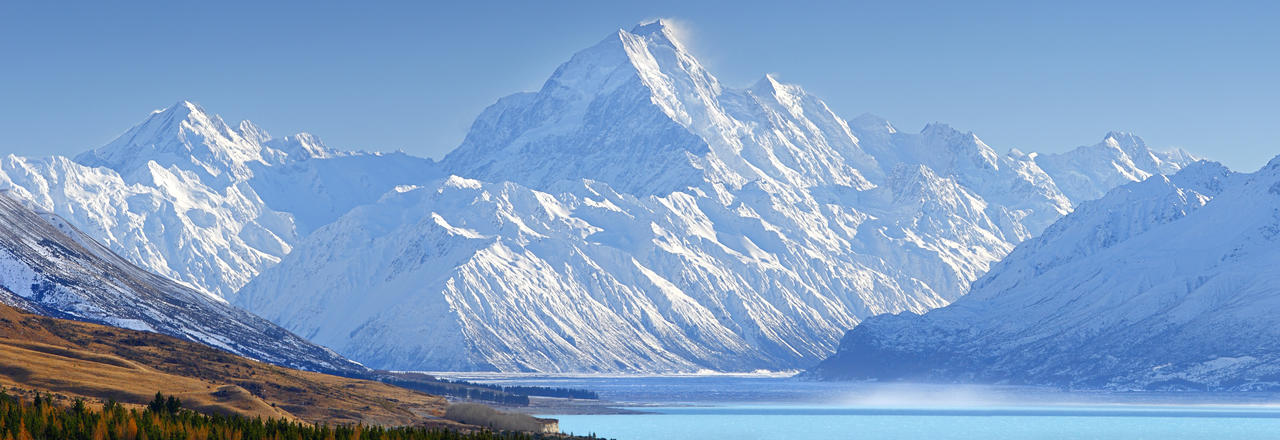 Mont Cook Aoraki New Zealand