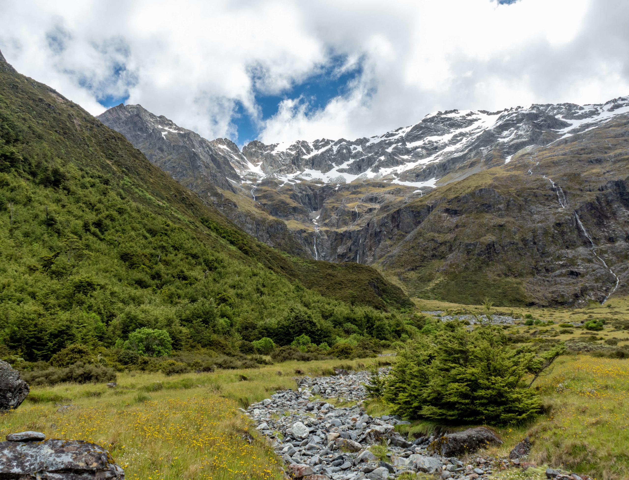 randonnée North Temple proche de Twizel Nouvelle-Zélande