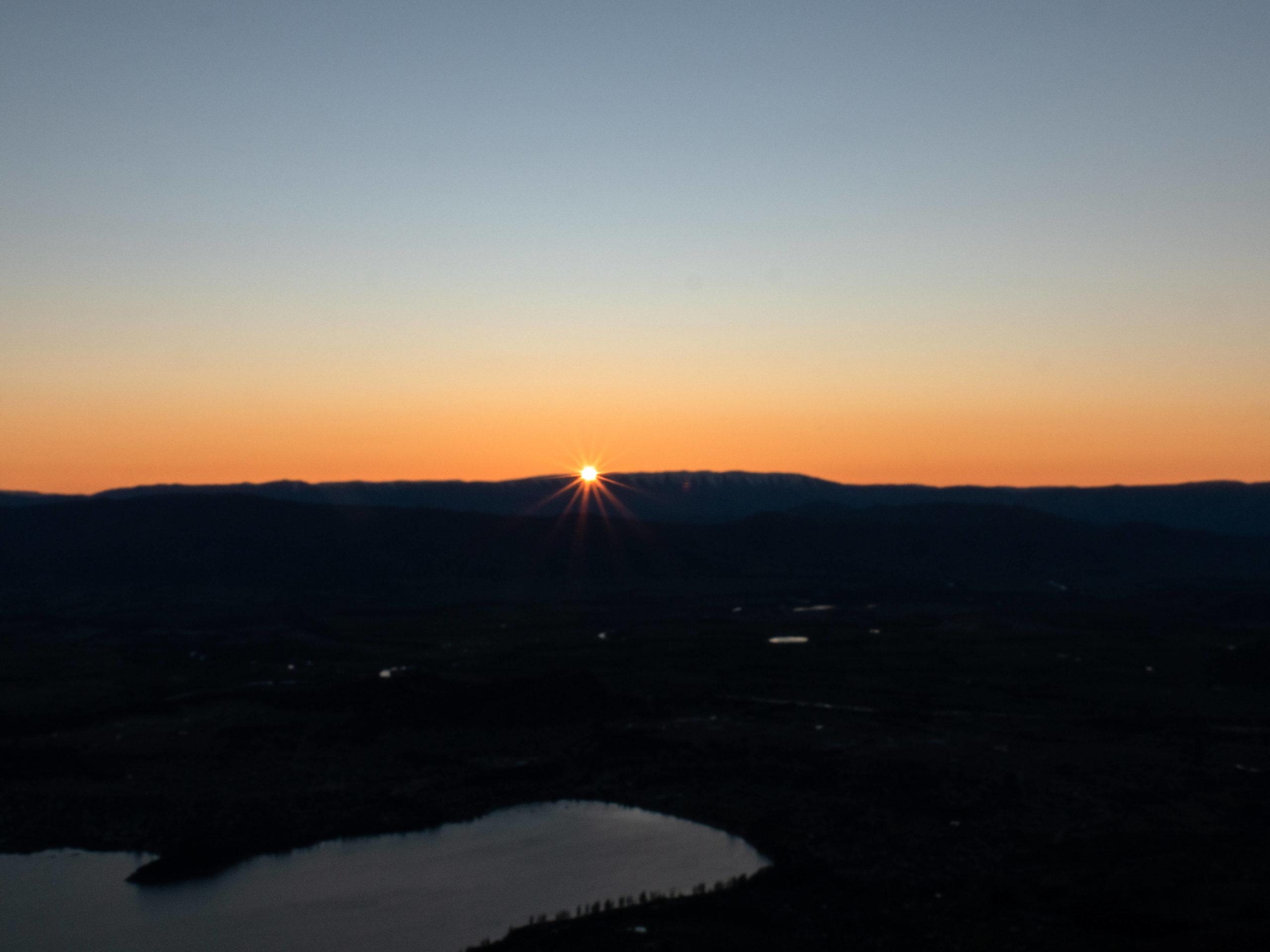Le soleil se lève sur Wanaka Nouvelle-Zélande