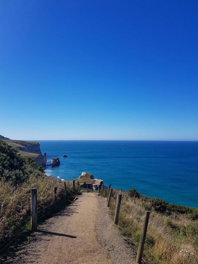 Tunnel beach Nouvelle-Zélande