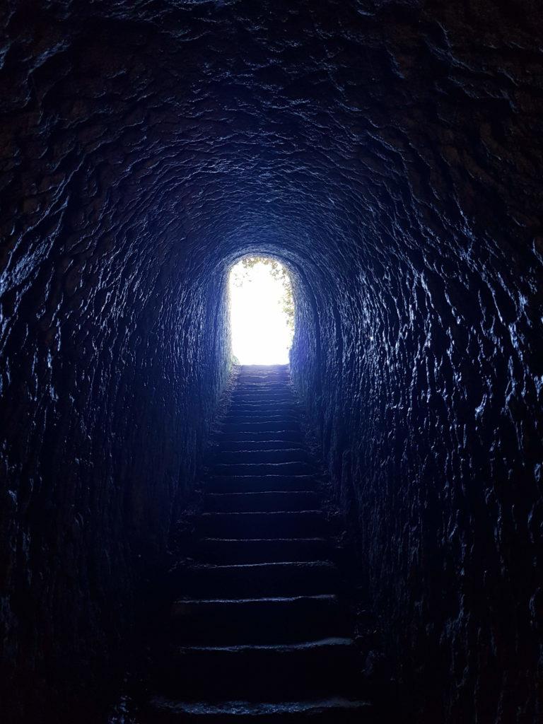 Tunnel de Tunnel beach Nouvelle-Zélande