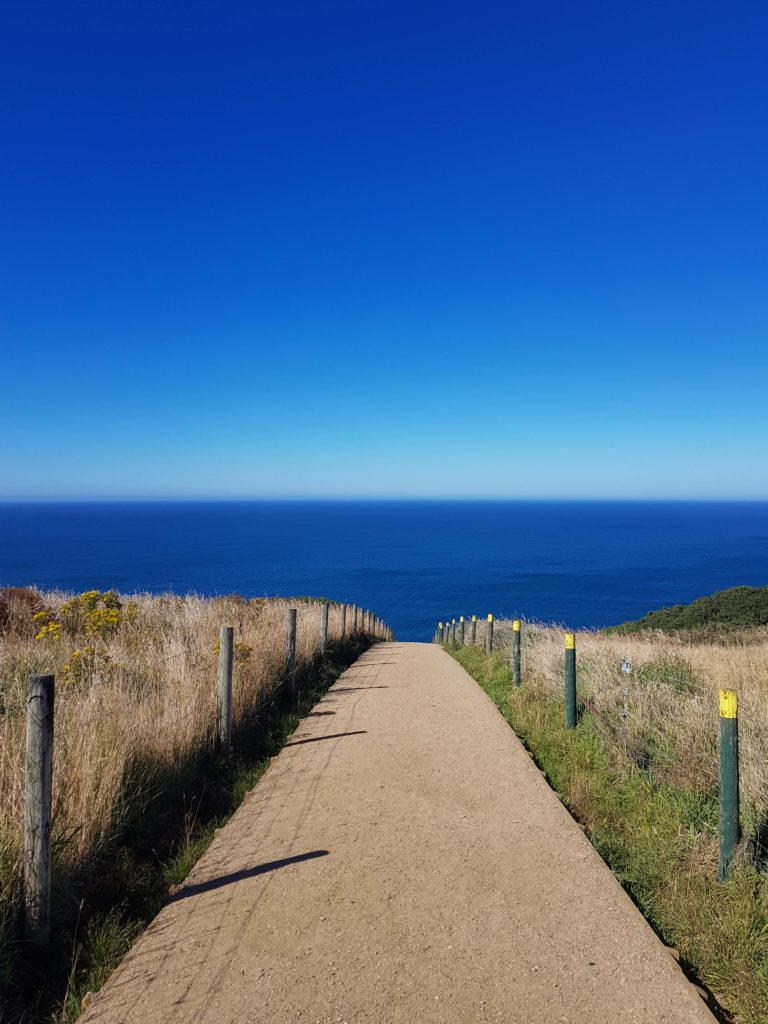 chemin Tunnel beach Nouvelle-Zélande