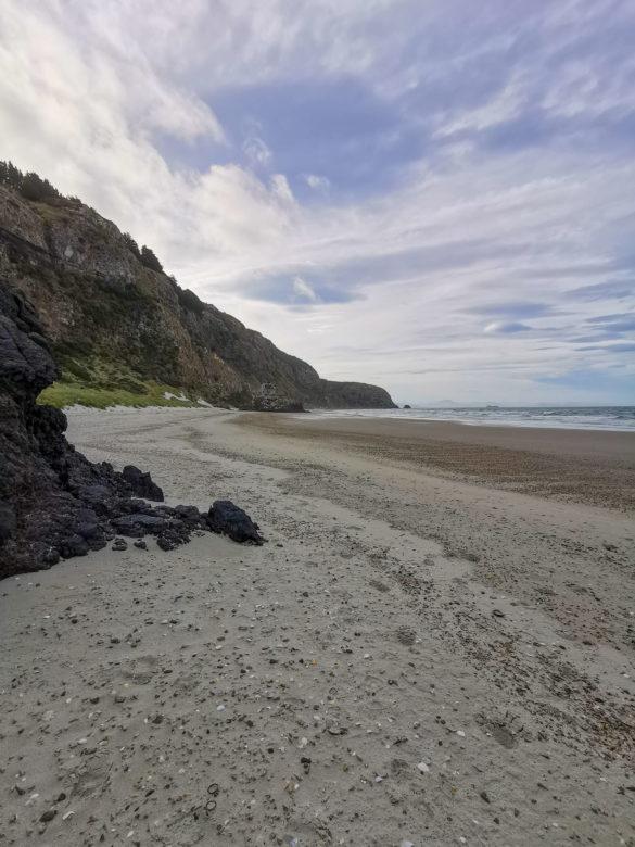Plage Aramoana beach Nouvelle-Zélande